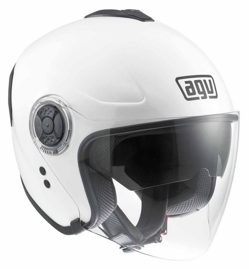 Casco moto Agv Fiberlight Mono bianco