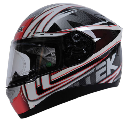 Nitek P1 Racerhead full face helmet Red