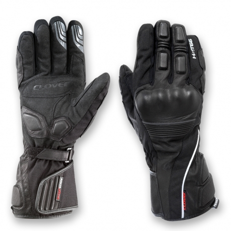 Waterproof Motorcycle Gloves Clover HST-WP 66