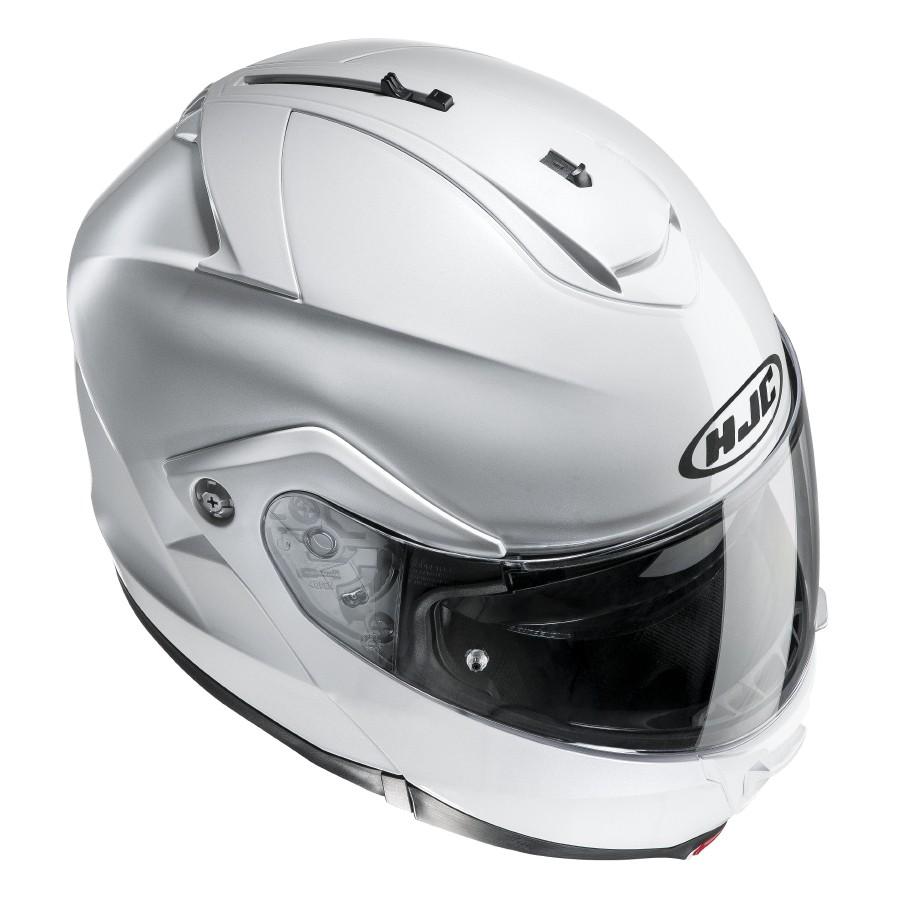 HJC ISMAX II flip off helmet Pearl White
