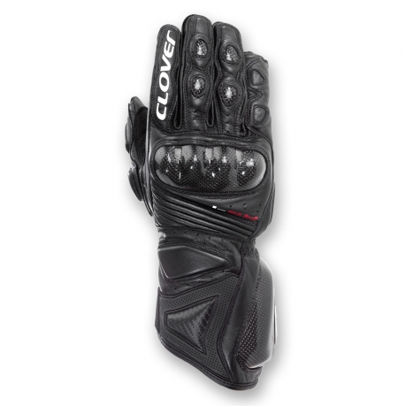 Clover Leather Gloves RS-4 Evo Black