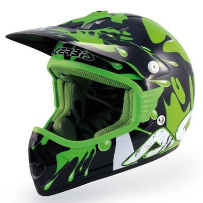 Casco cross Acerbis Paint Verde