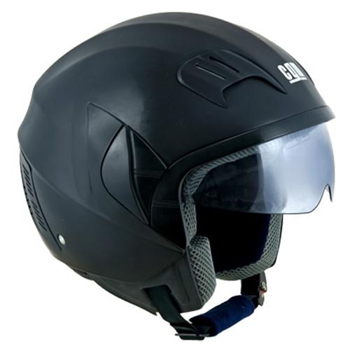 CGM Neon Basic jet helmet Black