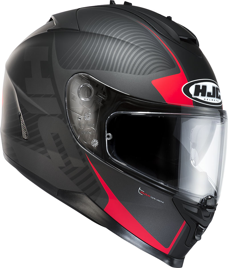 Full face helmet HJC IS17 Mission MC1F