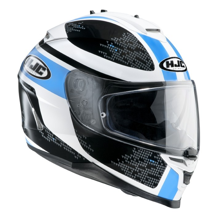 HJC IS17 full face helmet Paru MC2