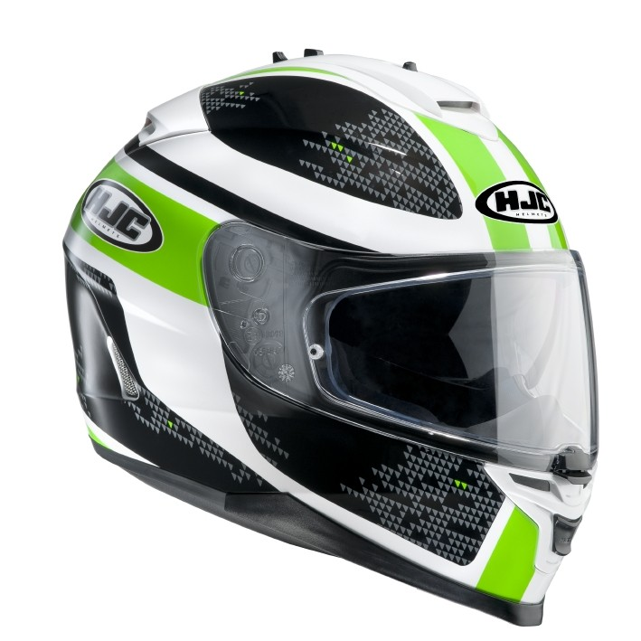 HJC IS17 full face helmet Paru MC4
