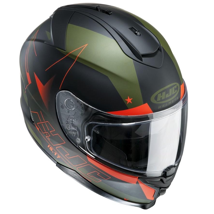 HJC IS17 full face helmet Armada MC7F