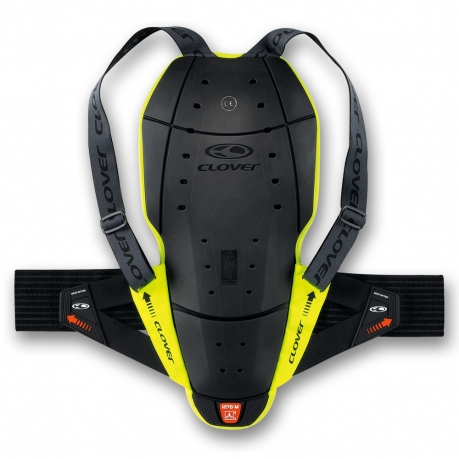 Clover back protector CE Level 2 Back Pro-4 Black Yellow