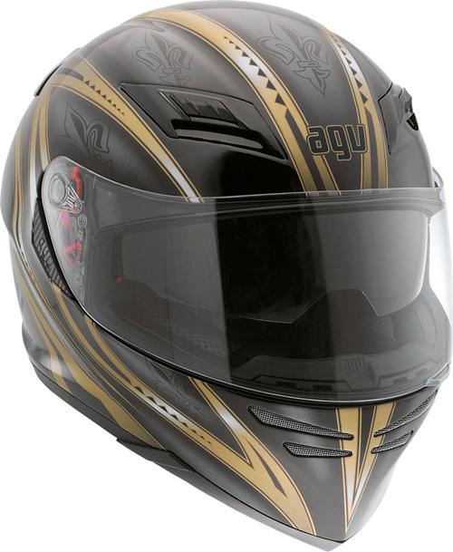 Casco moto Agv Horizon Multi Florence nero-oro