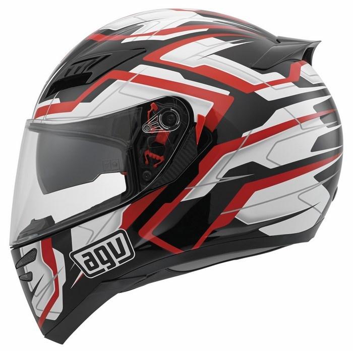 Agv GT Horizon Multi Stamina helmet black-white-red
