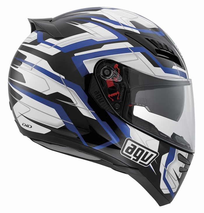 Agv GT Horizon Multi Stamina helmet black-white-blue