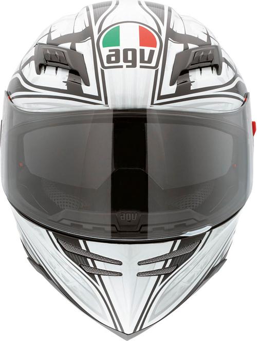 Agv Horizon Multi Scrape full-face helmet black-silver