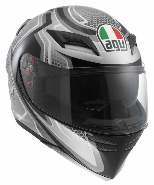 Agv Horizon Multi Racer fullface helmet black-carbon-gunmetal