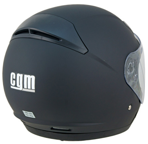 CGM Prime jet helmet Rubber Black