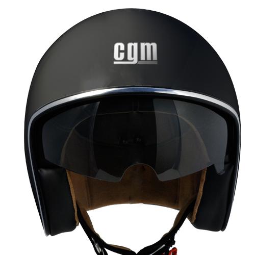 Jet helmet CGM 133A Vintage Black
