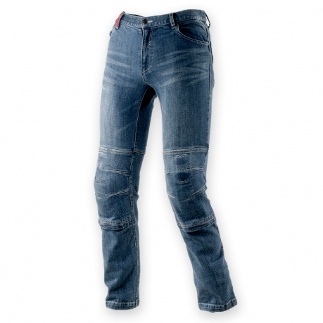 Jeans moto Clover SYS-2 con Kevlar Blu