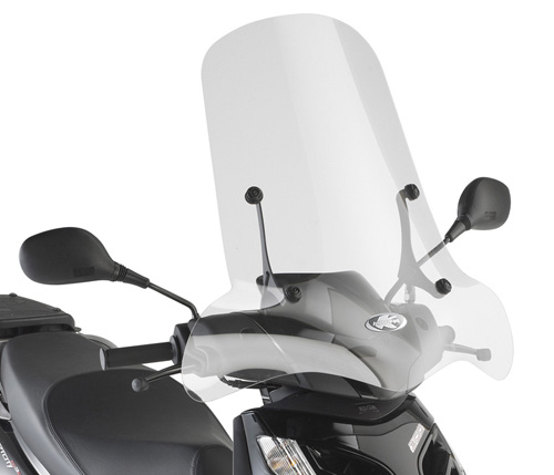 Windshield Kappa 134A specifically for Aprilia Sportcity one 50-