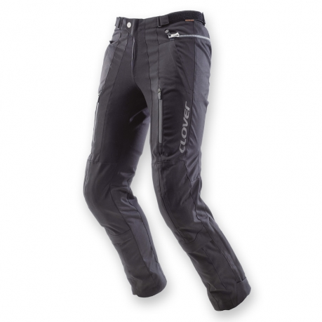 Motorcycle pants Clover woman Tourer WP Black Lady