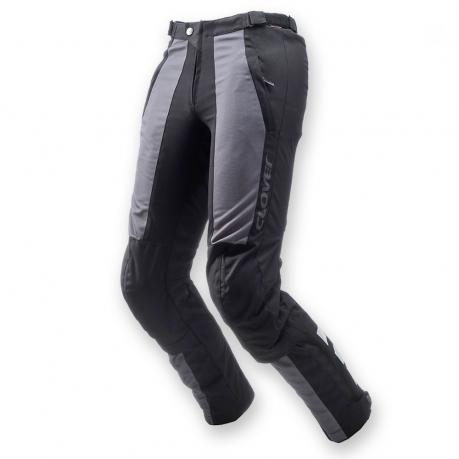 Pantaloni moto estivi Clover AirJet Nero