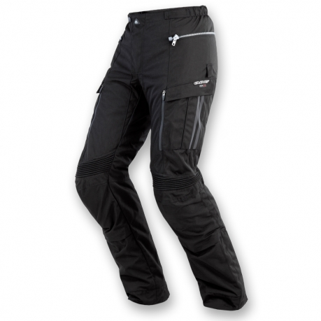 Motorcycle pants Clover GTS WP 3 ply Black