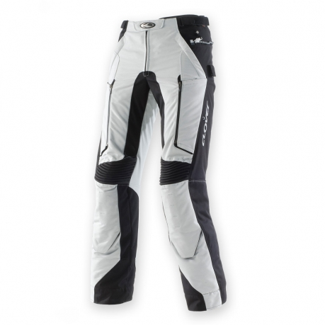 Pantaloni moto Clover GT Pro WP 4 stagioni Grigio