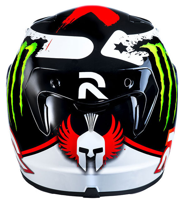HJC RPHA 10 Plus Lorenzo Replica Mc1 full face helmet