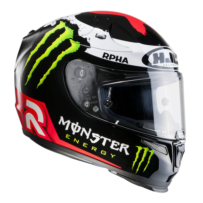 HJC RPHA 10 Plus Lorenzo Replica II full face helmet MC1