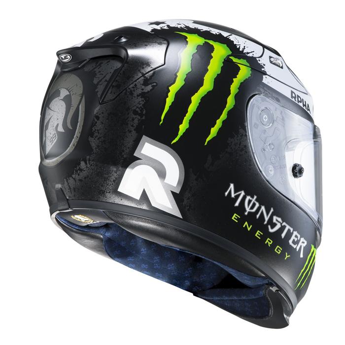 HJC RPHA 10 Plus Lorenzo Replica Ghost Fuera full face helmet
