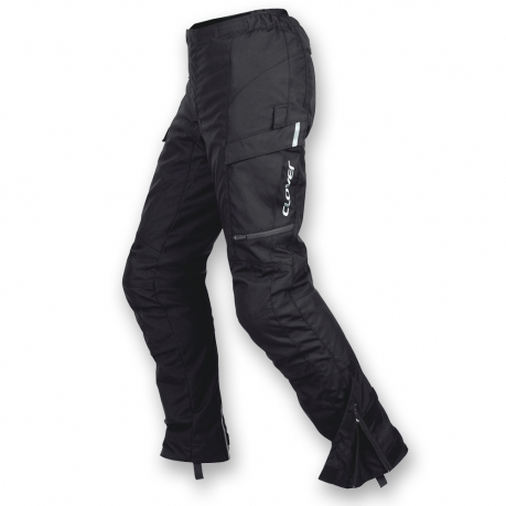Motorcycle pants Clover woman Voyager WP Lady Short Black