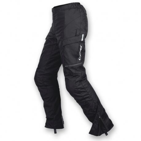 Pantaloni moto donna Clover Voyager WP Lady Short Nero