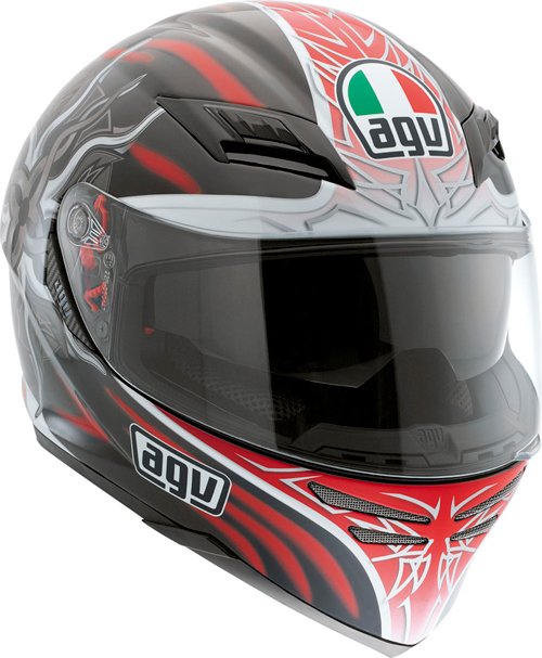 Agv Skyline Multi Sun full-face helmet black-red