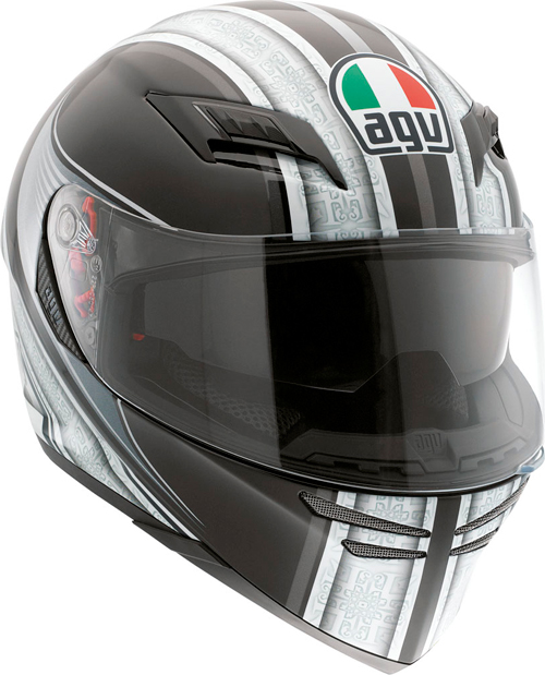 Agv Skyline Multi Asura full-face helmet black-silver