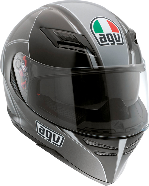 Casco moto Agv Skyline Multi Block nero-gunmetal