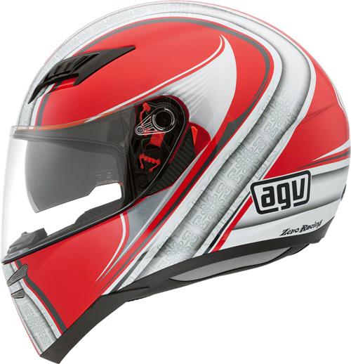 Agv Skyline Multi Asura full-face helmet red-silver