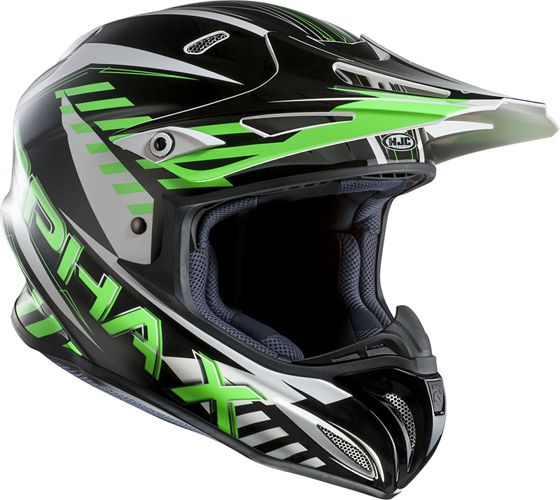 Casco cross HJC RPHA X Schuma MC4