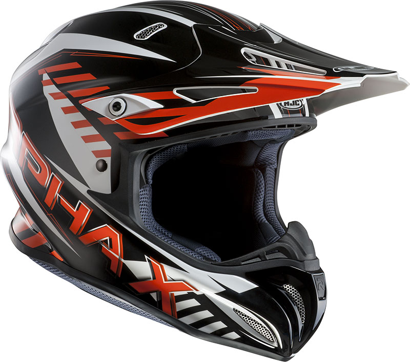 Cross helmet HJC RPHA X Schuma MC7