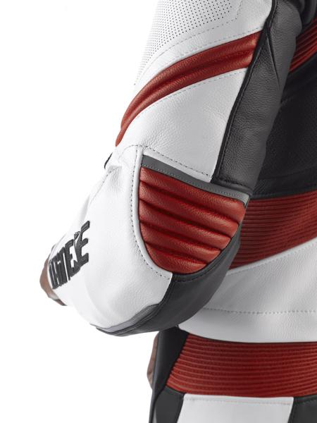 Dainese DRAKEN leather divisible suit Black-White