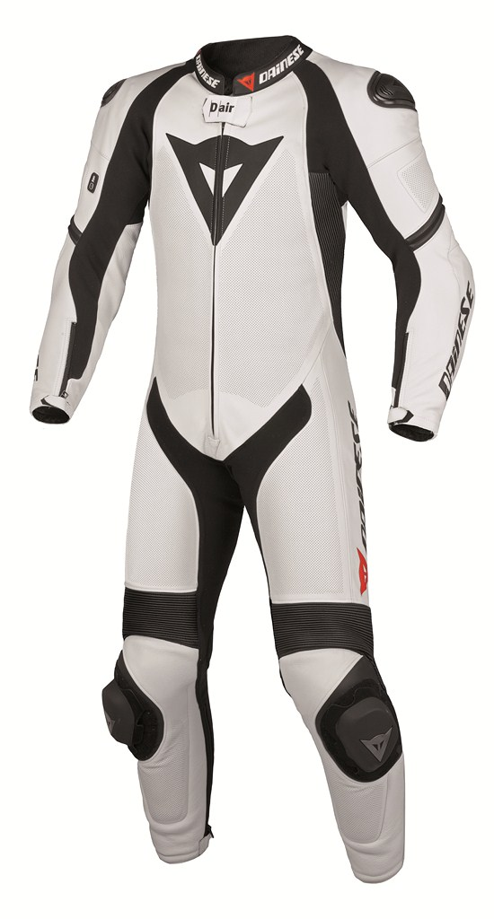 Dainese laguna S-Pred Pro Leather suit white-black