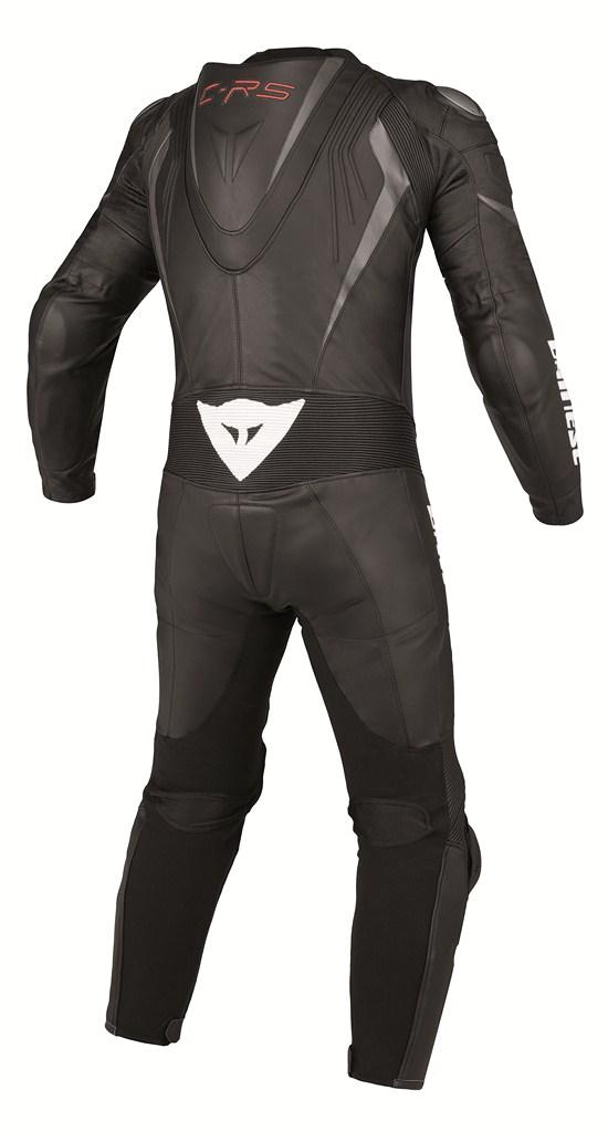 Dainese Crono P. Estiva leather suit black black anthracite