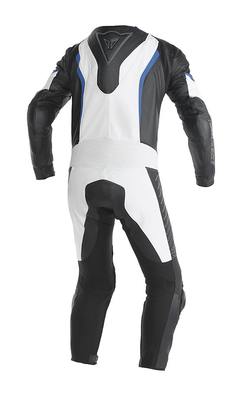 Dainese Racing leather suit Black Blue