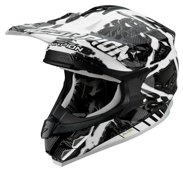Cross helmet Scorpion VX 15 Petrol White