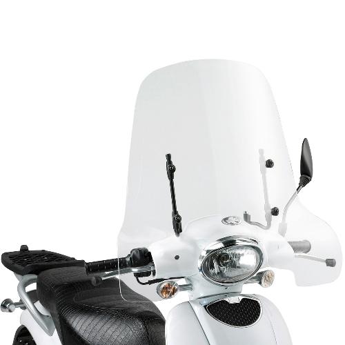 Kappa 152A Windshield for Aprilia Scarabeo 50-100 48x66