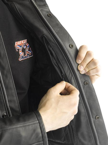 Dainese MAVERICK PELLE leather jacket Black