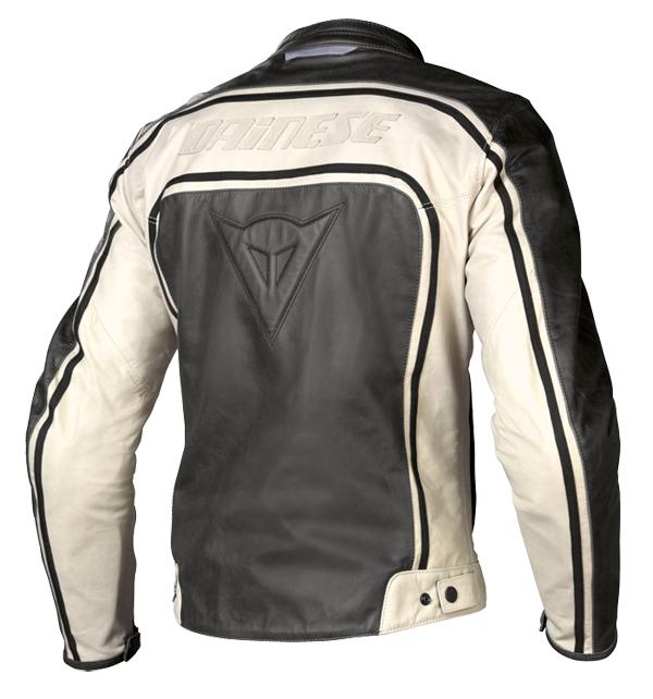 Dainese Tourage Vintage leather jacket black-ice