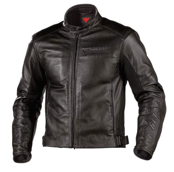 Dainese Newater leather jacket black