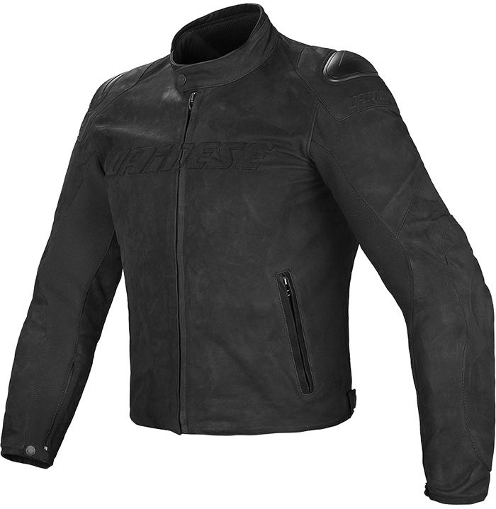 Dainese Street Rider leather jacket Black