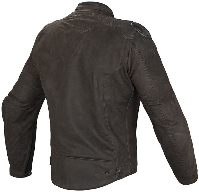 Dainese Street Rider leather jacket Dark Brown