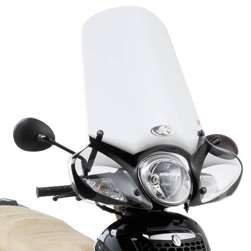 Windshield Kappa 154A specifically for Aprilia Scarabeo 125-200
