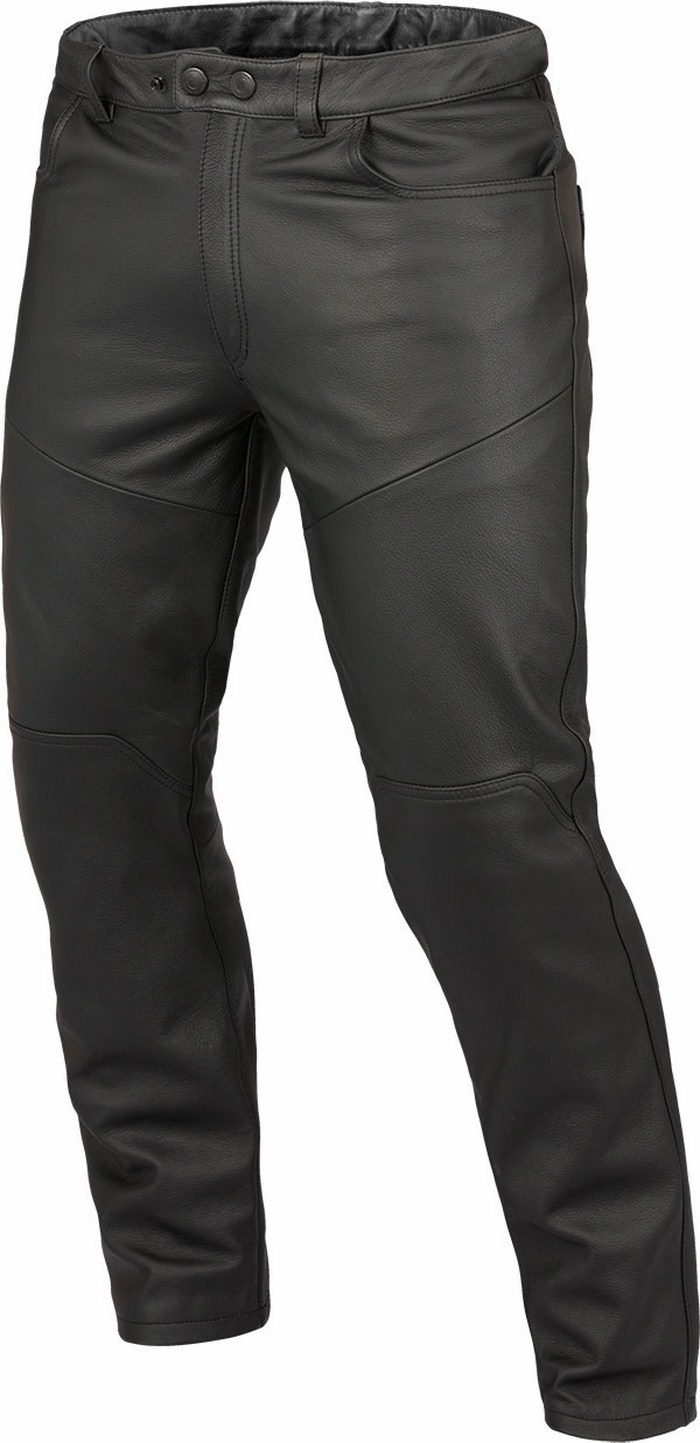 Dainese leather motorcycle pants Trophy Evo Black