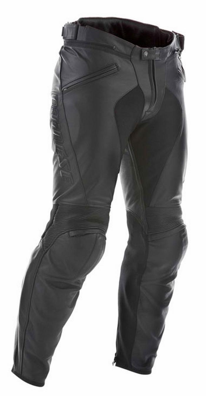 Pantaloni moto pelle Dainese Pony C2 Nero